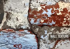 Texture de mur de brique fissurée