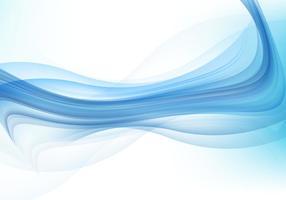 Résumé Blue Wave Background vecteur