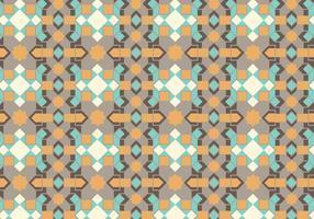 Motif en pastel géométrique vecteur