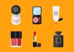 Outils de maquillage vectoriel