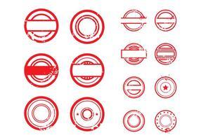 Illustration vectorielle gratuite de Stempel # 1 vecteur