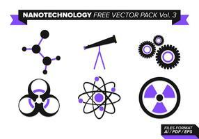 Pack vecteur libre de nanotechnologie vol. 3