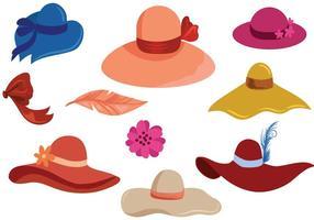 Vecteurs de chapeaux gratuits vecteur