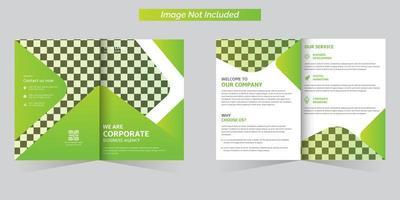ensemble de modèles de brochure d'entreprise
