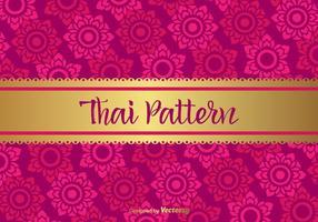 Motif vectoriel thaïlandais