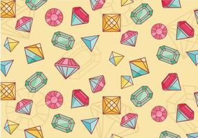 Vecteur strass pattern