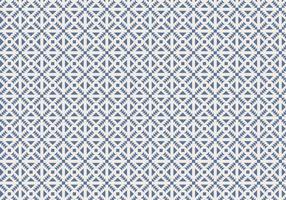 Vecteur de fond bleu motif géométrique