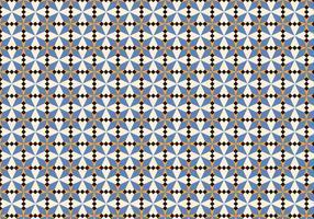 Motif de mosaïque marocaine violette vecteur
