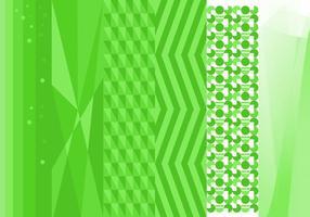 Vecteur de fond vert gratuit n ° 2