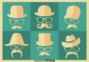 Old Style Retro Style Vector