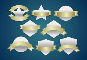 Wappen shields emblèmes vecteur logos