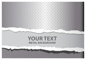 Fond de déchirure des métaux vecteur
