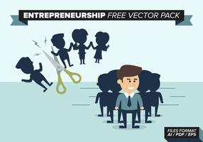 Paquet vectoriel gratuit pour l'entreprenariat
