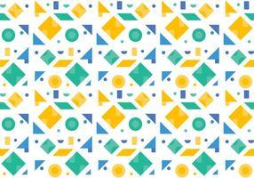 Free Green Pattern # 4 vecteur