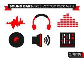 Barres de sons pack vecteur gratuit vol. 4