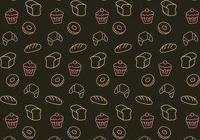 Vecteur gratuit de modèle de boulangerie