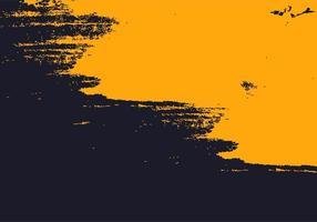 texture de peinture abstraite grunge jaune et marine