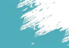 texture de coup de pinceau d'encre sarcelle grungy