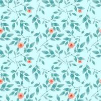 motif de fleur rose transparente bleu pastel