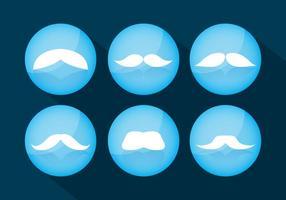 Vecteurs de moustaches