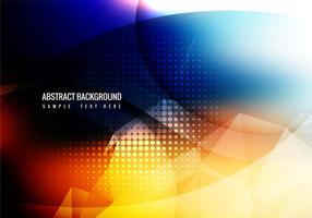 Vecteur de fond abstraite coloré gratuit