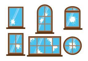 Vector Window cassé