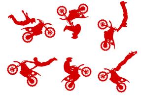 Vecteur vélo de saleté gratuit