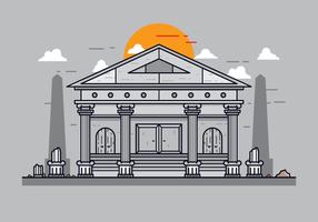 Vecteur de construction romaine gratuit