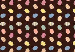 Vecteur gratuit de modèles d'oeufs de Pâques
