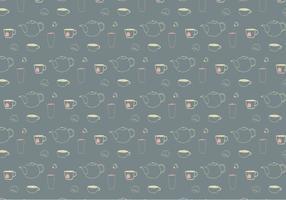 Contexte du motif Teatime vecteur