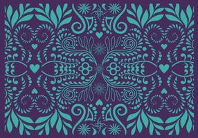 Koru pattern vector