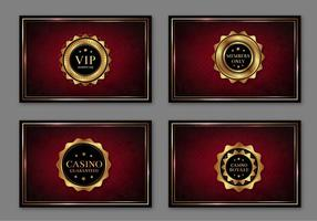 Casino Royal Pass Cards Free Vector