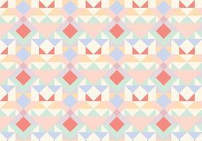 Motif abstrait géométrique en pastel vecteur