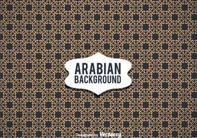 Fond d'ornement arabe vecteur