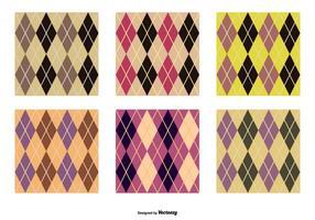 Ensemble de motifs vectoriels agryle