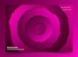 fond abstrait cercle slash violet