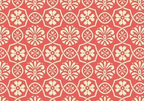 Motif vectoriel floral