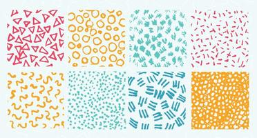 Variantes gratuites de motifs vectoriels vecteur