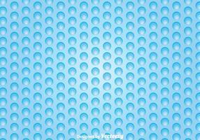 Vecteur enveloppe à bulles bleue