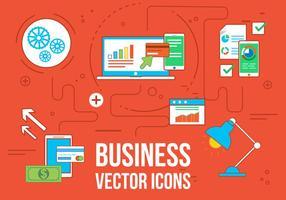 Free Vecor Business et les icônes Web