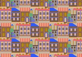 Motif des bâtiments de la ville