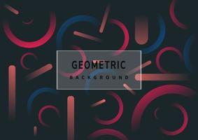 résumé, minimal, courbe, ligne, gradient, couleur, formes, modèle