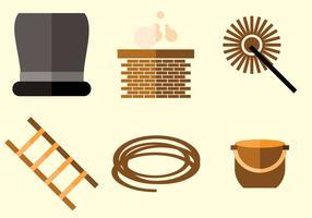 Vecteur de balayage des cheminées