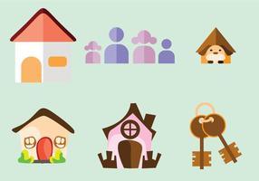Vecteurs domestiques à la maison