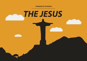 VESTE JESUS GRATUIT vecteur