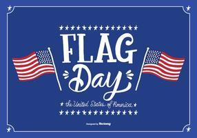 Illustration vectorielle du jour du drapeau de juin