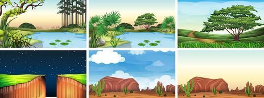 scènes de paysage naturel