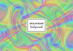 Fond d'écran hologramme de marbre vert de vecteur gratuit