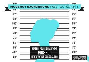 Fond d'écran de Mugshot Free Vector Vol. 5