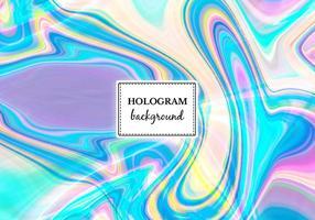 Vecteur libre brillant hologramme de marbre fond